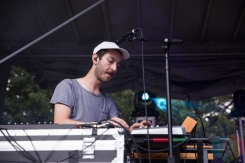 Chrome Sparks performing at Time Festival in Toronto on August 6, 2016. (Photo: Brandon Newfield/Aesthetic Magazine)