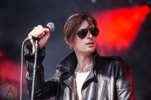 Cold Cave performing at Time Festival in Toronto on August 6, 2016. (Photo: Brandon Newfield/Aesthetic Magazine)