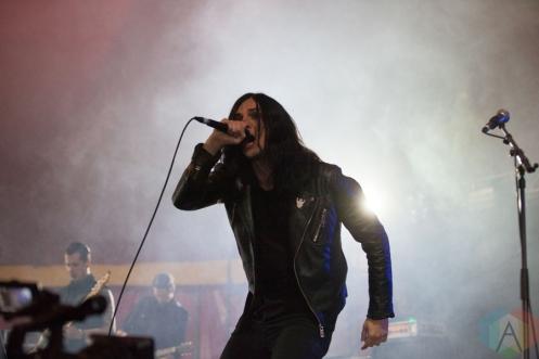 Creeper performing at Leeds Festival on August 27, 2016. (Photo: Priti Shikotra/Aesthetic Magazine)