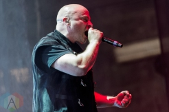 Disturbed performing at the Molson Amphitheatre in Toronto on August 8, 2016. (Photo: Julian Avram/Aesthetic Magazine)