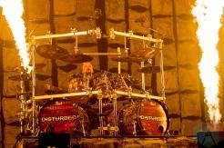 Disturbed performing at the Molson Amphitheatre in Toronto on August 8, 2016. (Photo: Julian Avram/Aesthetic Magazine)