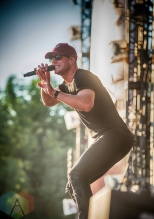 Sam Hunt performing at the Boots And Hearts Music Festival on August 5, 2016. (Photo: Jeremy Mac Knott/Aesthetic Magazine)