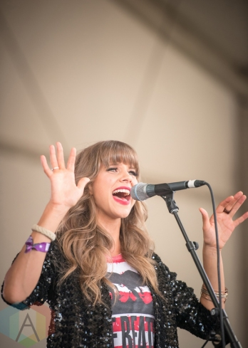 Kaitlin Kozell performing at the Boots And Hearts Music Festival on August 7, 2016. (Photo: Jeremy Mac Knott/Aesthetic Magazine)