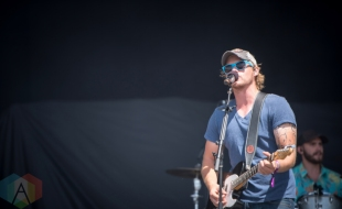 James Barker Band performing at the Boots And Hearts Music Festival on August 7, 2016. (Photo: Jeremy Mac Knott/Aesthetic Magazine)