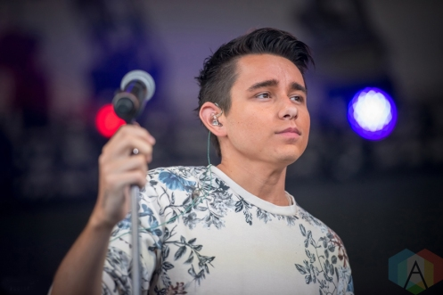 Jordan Mcintosh performing at the Boots And Hearts Music Festival on August 7, 2016. (Photo: Jeremy Mac Knott/Aesthetic Magazine)