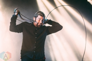 Chino Moreno of Deftones performing at the International Centre in Toronto on August 13, 2016. (Photo: Anthony D'Elia/Aesthetic Magazine)