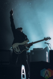 Refused performing at the International Centre in Toronto on August 13, 2016. (Photo: Anthony D'Elia/Aesthetic Magazine)