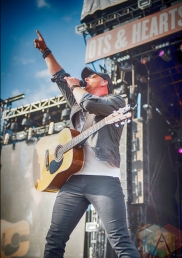 Tim Hicks performing at the Boots And Hearts Music Festival on August 5, 2016. (Photo: Jeremy Mac Knott/Aesthetic Magazine)