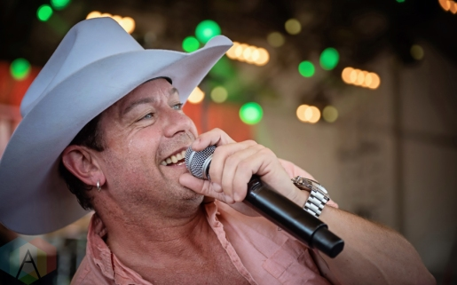 Aaron Pritchett performing at the Boots And Hearts Music Festival on August 6, 2016. (Photo: Jeremy Mac Knott/Aesthetic Magazine)