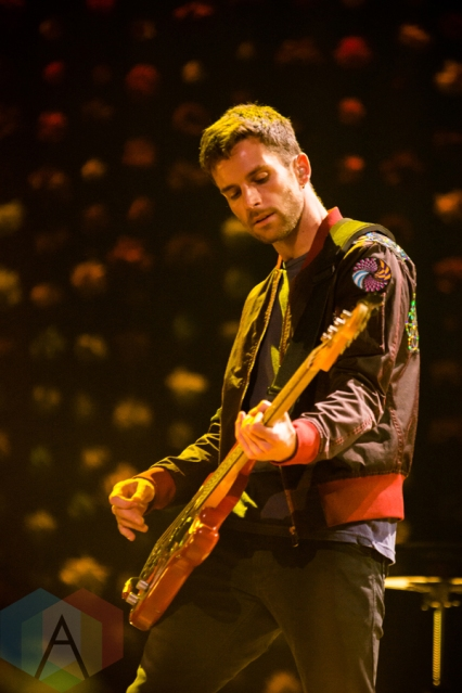 Coldplay performing at the First Niagara Center in Buffalo on August 1, 2016. (Photo: Janine Van Oostrom/Aesthetic Magazine)