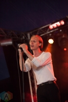 Eagulls performing at Leeds Festival on August 26, 2016. (Photo: Priti Shikotra/Aesthetic Magazine)