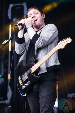Everything Everything performing at Time Festival in Toronto on August 6, 2016. (Photo: Brandon Newfield/Aesthetic Magazine)