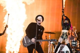 Fall Out Boy performing at Leeds Festival on August 26, 2016. (Photo: Ben Gibson)
