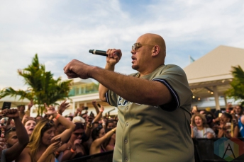 Fat Joe performing at the Cabana Pool Bar in Toronto on August 20, 2016. (Photo: Joshua Qubti-Andrews/Aesthetic Magazine)
