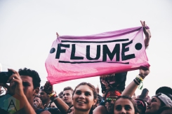 Flume performing at the VELD Music Festival in Toronto on July 30, 2016 (Photo: Brandon Newfield/Aesthetic Magazine)
