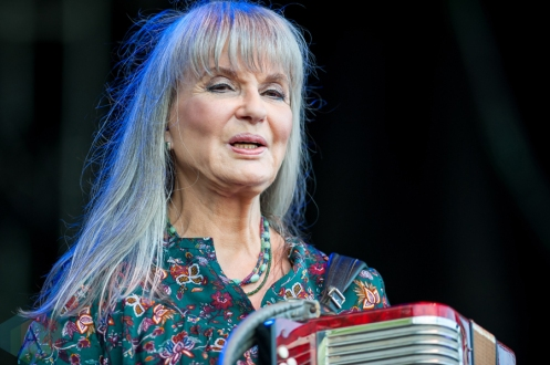 Sylvia Tyson performing at Harvest Picnic 2016 at the Christie Lake Conservation Area in Dundas, Ontario on August 28, 2016. (Photo: Orest Dorosh/Aesthetic Magazine)
