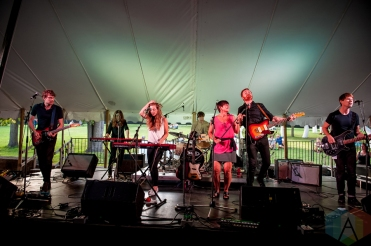 Fast Romantics performing at Riverfest Elora on August 19, 2016. (Photo: Orest Dorosh/Aesthetic Magazine)