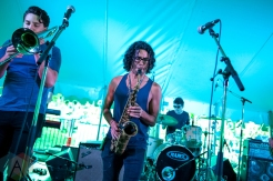 Busty And The Bass performing at Riverfest Elora on August 20, 2016. (Photo: Orest Dorosh/Aesthetic Magazine)