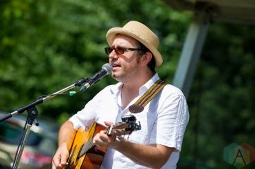 Rich Burnett performing at Riverfest Elora on August 20, 2016. (Photo: Orest Dorosh/Aesthetic Magazine)