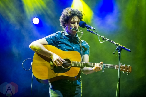 Jeremy Fisher performing at Harvest Picnic 2016 at the Christie Lake Conservation Area in Dundas, Ontario on August 26, 2016. (Photo: Orest Dorosh/Aesthetic Magazine)