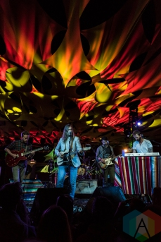 Fruit Bats performing at Pickathon 2016 in Happy Valley, Oregon on August 6, 2016. (Photo: Kevin Tosh/Aesthetic Magazine)