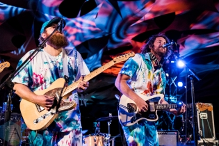 Futurebirds performing at Pickathon 2016 in Happy Valley, Oregon on August 5, 2016. (Photo: Kevin Tosh/Aesthetic Magazine)
