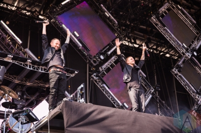 Galantis performing at the VELD Music Festival in Toronto on July 30, 2016 (Photo: Brandon Newfield/Aesthetic Magazine)