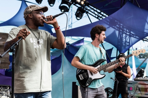 Golden Rules performing at Pickathon 2016 in Happy Valley, Oregon on August 6, 2016. (Photo: Kevin Tosh/Aesthetic Magazine)