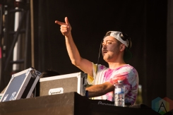 Grandtheft performing at the Mad Decent Block Party at Fort York in Toronto on August 19, 2016. (Photo: Brandon Newfield/Aesthetic Magazine)