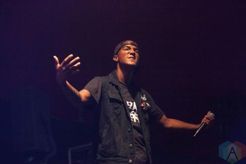 Hacktivist performing at Leeds Festival on August 27, 2016. (Photo: Priti Shikotra/Aesthetic Magazine)