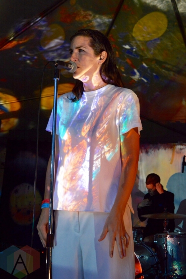 Young Galaxy performing at Camp Wavelength in Toronto on August 21, 2016. (Photo: Justin Roth/Aesthetic Magazine)