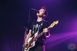 Blink-182 performing at the Molson Amphitheatre in Toronto on August 21, 2016. (Photo: Stephan Ordonez/Aesthetic Magazine)