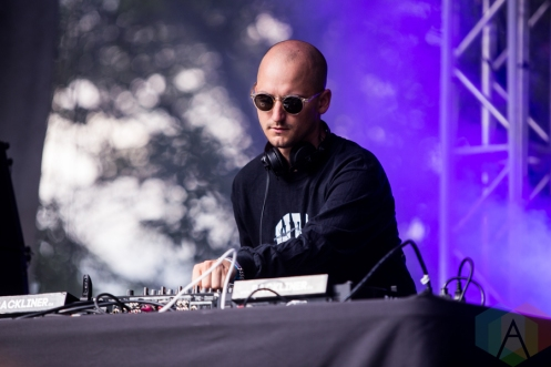 Jacques Greene performing at Time Festival in Toronto on August 6, 2016. (Photo: Brandon Newfield/Aesthetic Magazine)