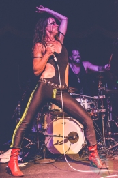 Juliette Lewis performing at the Brooklyn Bowl in Brooklyn, New York on August 6, 2016. (Photo: Saidy Lopez/Aesthetic Magazine)