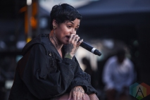 Kehlani performing at Time Festival in Toronto on August 6, 2016. (Photo: Brandon Newfield/Aesthetic Magazine)