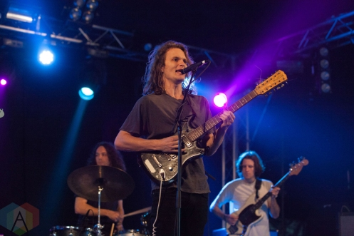 King Gizzard & The Lizard Wizard performing at Leeds Festival on August 28, 2016. (Photo: Priti Shikotra/Aesthetic Magazine)
