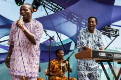 King Sunny Ade performing at Pickathon 2016 in Happy Valley, Oregon on August 5, 2016. (Photo: Kevin Tosh/Aesthetic Magazine)
