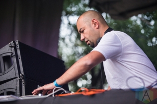 KiNK performing at Time Festival in Toronto on August 6, 2016. (Photo: Brandon Newfield/Aesthetic Magazine)