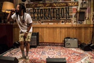 Myke Bogan performing at Pickathon 2016 in Happy Valley, Oregon on August 6, 2016. (Photo: Kevin Tosh/Aesthetic Magazine)