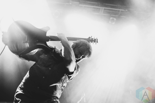 Minus The Bear performing at Venue in Vancouver on August 24, 2016. (Photo: Natasha Priya/Aesthetic Magazine)