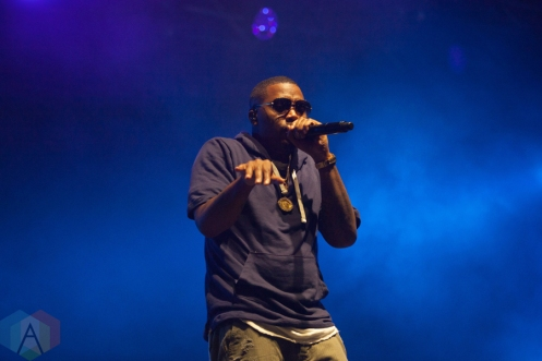 Nas performing at Leeds Festival on August 28, 2016. (Photo: Priti Shikotra/Aesthetic Magazine)