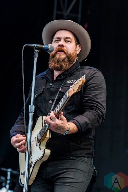 Nathaniel Rateliff performing at Project Pabst Portland on August 27, 2016. (Photo: Kevin Tosh/Aesthetic Magazine)