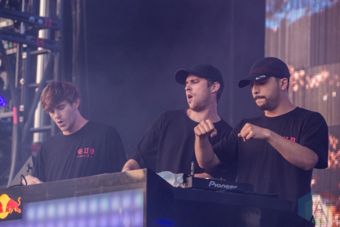 NGHTMRE X Slander performing at the Mad Decent Block Party at Fort York in Toronto on August 19, 2016. (Photo: Brandon Newfield/Aesthetic Magazine)