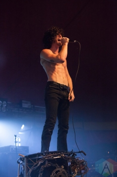 Nothing More performing at Leeds Festival on August 27, 2016. (Photo: Priti Shikotra/Aesthetic Magazine)