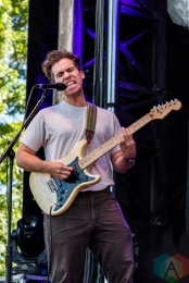 Parquet Courts performing at Project Pabst Portland on August 28, 2016. (Photo: Kevin Tosh/Aesthetic Magazine)
