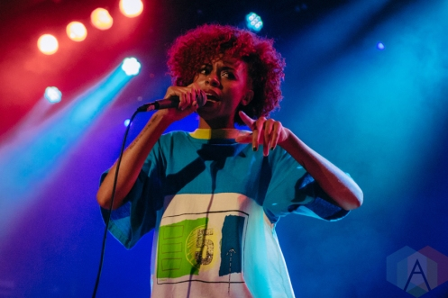 Ravyn Lenae performing at Metro Chicago in Chicago on August 4, 2016. (Photo: Kate Scott/Aesthetic Magazine)