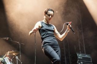 Savages performing at Leeds Festival on August 26, 2016. (Photo: Priti Shikotra/Aesthetic Magazine)