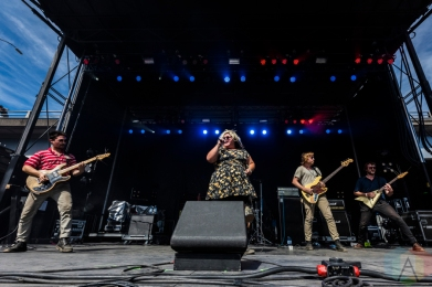 Sheer Mag performing at Project Pabst Portland on August 28, 2016. (Photo: Kevin Tosh/Aesthetic Magazine)