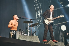 Slaves performing at Leeds Festival on August 28, 2016. (Photo: Will Hartley)