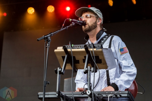 STRFKR performing at Project Pabst Portland on August 27, 2016. (Photo: Kevin Tosh/Aesthetic Magazine)